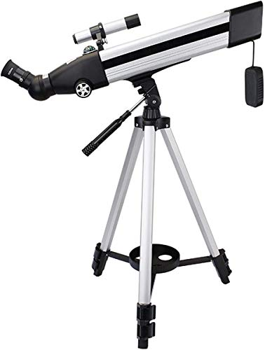 ZHTY National Geographic Telescope,60mm Aperture 500mm Mount Astronomical Refracting,HD Low Light Night Vision,Portable Travel Telescope with Tripod, and Finders Scope Telescope
