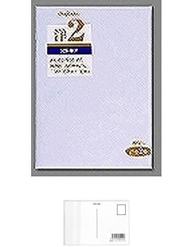 マルアイ 洋形封筒 2号枠なし 10枚入り ヨ-12N 『 3セット 』 + 画材屋ドットコム ポストカードA