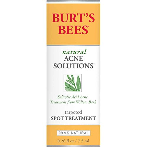 Burt's Bees Natural Acne Solutions Targeted Spot Treatment, 0.26 Ounces each (Value Pack of 3)