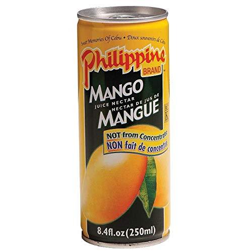 Philippine Mango Juice Nectar 8.4-Ounce (Pack...