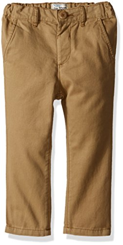 The Children's Place Baby Boys' Toddler Skinny Chino Pants, Flax 7033, 3T