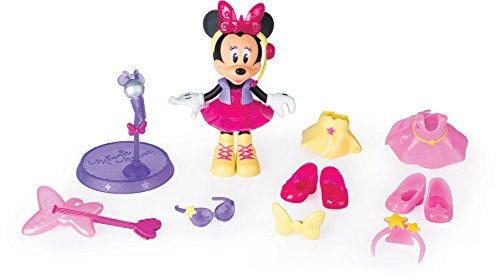 Minnie Mouse- Fashion Dolls 2: Pop Star, Multicolor (IMC Toys 182912) 1