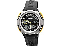 A sporty combination of black and yellow sets the style for this watch A sporty combination of black and yellow sets the style for this watch Water resistant 100m Luxury Gift - Christmas, Valentine's Day, Anniversary, Birthday, Wedding