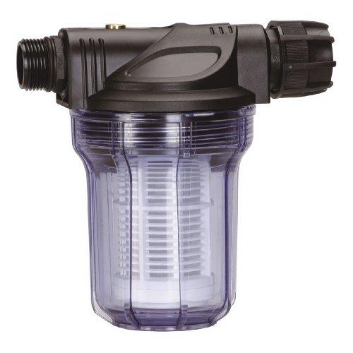 Gardena Pumpen-Vorfilter für Wasserdurchfluss bis 3000 l/h: Effektiver Filter für Gartenpumpen und Hauswasserautomaten, mit Filtereinsatz (1731-20)