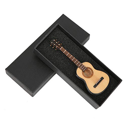 Pegatinas para frigorífico con forma de guitarra, 10CM Basswood G, adorno para nevera con guitarra, accesorio de decoración tridimensional para nevera
