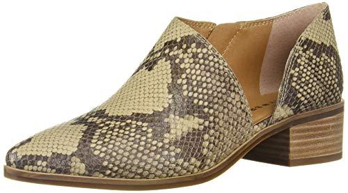 Lucky Brand Women's KENRI Ankle Boot, Chinchilla, 9.5