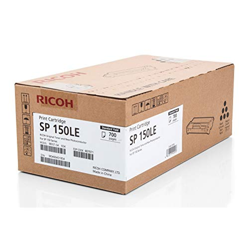 Ricoh 407971 700páginas Negro tóner y cartucho láser - Tóner para impresoras láser (700 páginas, Negro, 1 pieza(s))