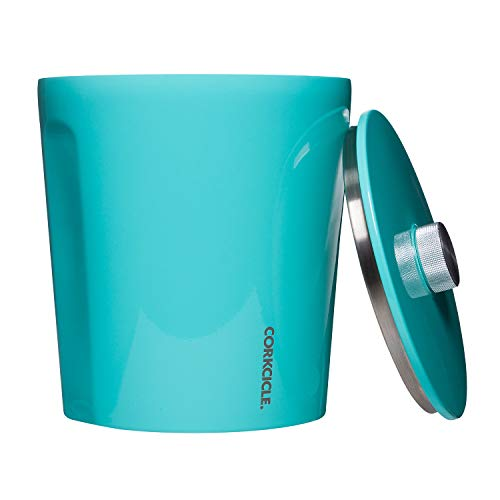 Corkcicle Ice Bucket - Gloss Turquoise