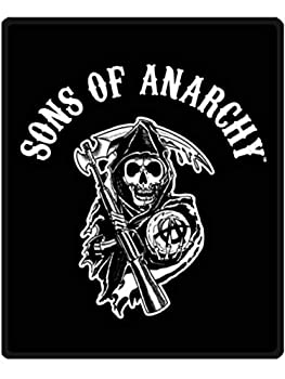 Sons of Anarchy Twin Blanket Throw Reaper