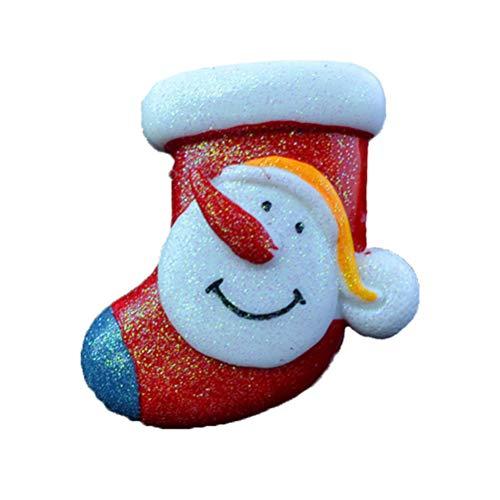 Holibanna Difusor de Coche de Navidad Clip de Ventilación Clip de Perfume Automático Ambientador Difusor Ambientador de Coche Accesorios de Coche (Calcetín de Navidad)