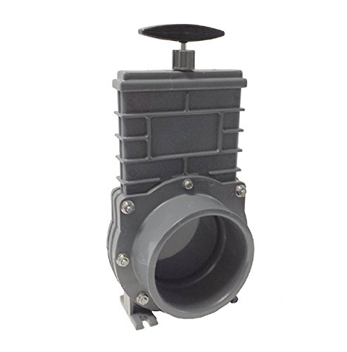 Valterra Zugschieber mit Kunststoffschieber und V4A Spindel, Ø 110 mm