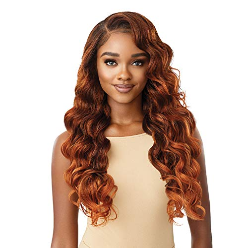 Outre HD Lace Front Wig Perfect Hairline Fully Hand-Tied 13X6 Lace Wig Charisma (1B)