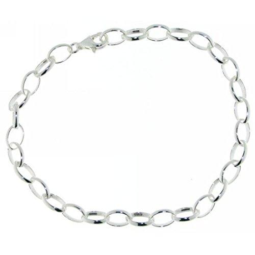 Derby Gliederarmband - ideal für Charms - Sammelarmband echt Silber 21 28375-21