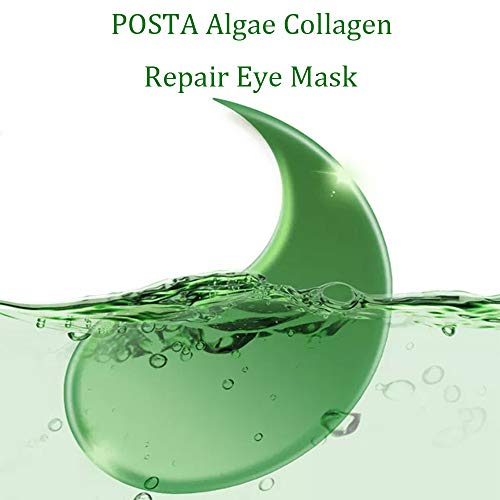 41a1fd5C+ZL - Under Eye Mask, POSTA 20 Pair Collagen Eye Treatment Gels Eye Patches, With Anti-Aging Hyaluronic Acid For Moisturizing & Reducing Dark Circles Puffiness Wrinkles Fine Lines