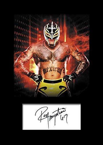 Signierter Fotodruck A5 Gr/ö/ße passend f/ür 6x8 Zoll Rahmen Seth Rollins WWE 2 Geschenk Sammlerst/ück Fotoanzeige Maschinenschnitt