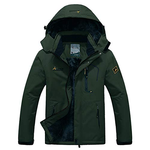 Panegy - Chaqueta Invierno Hombre Chaqueta Nieve Impermeable
