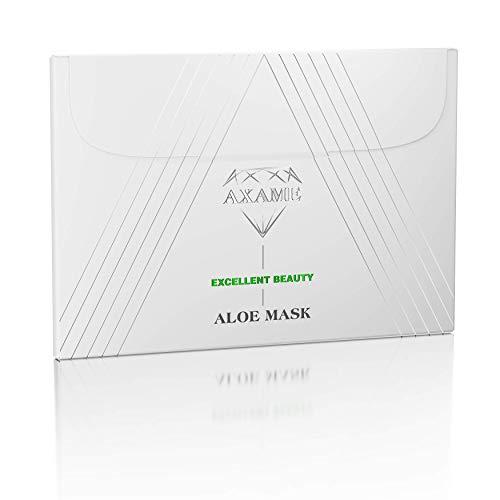 Axame Maschera Viso Premium Con Aloe Vera Idratante Ipoallergenica Antirughe e Antietà 25 ml