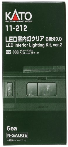 LED室内灯クリア 6両分入 11-212