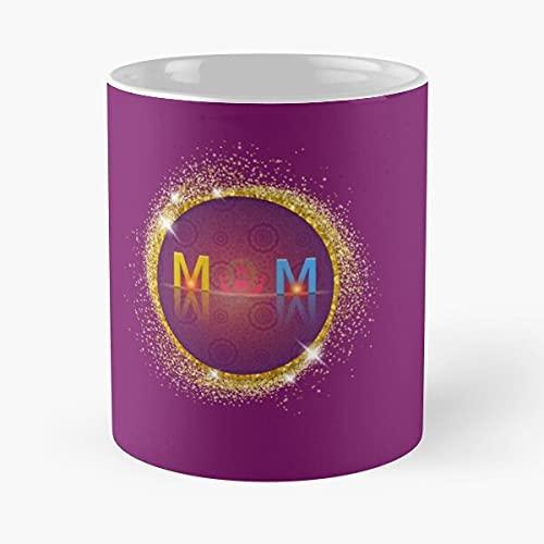 Taza de café con texto en inglés 'Happy Mothers Day Mom My Mother Birthday Queen'