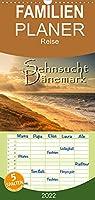 Sehnsucht Daenemark - Danmark - Familienplaner hoch (Wandkalender 2022 , 21 cm x 45 cm, hoch): Holmsland Klit und Westjuetlands Nordseekueste (Monatskalender, 14 Seiten )