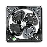 SHYPT Extractor De Aire Negro, Caja De Ventilador Silencioso De Alta Velocidad del Aire De Ventilación del Ventilador For El Hogar Baño Cocina Garaje