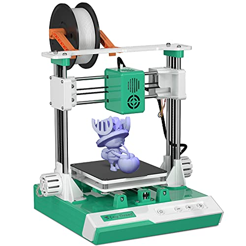 K1 3D Printer for Kids Building Size 100 x 100 x 100MM Portable Desktop Kit for Beginners Kids Teens...