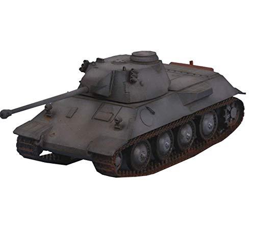 LHJCN Modello di carro Armato pressofuso in Scala 1/72, carro Armato VK3002 Modello in Resina dell'Esercito Tedesco, Giocattoli e Regali Militari, 4,4 Pollici x 1,7 Pollici