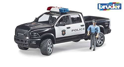 Bruder- Coche RAM 2500 con Figura POLICIA 40X17X15 CM (02505)