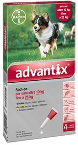 ADVANTIX SPOT ON*4PIP 10-25KG
