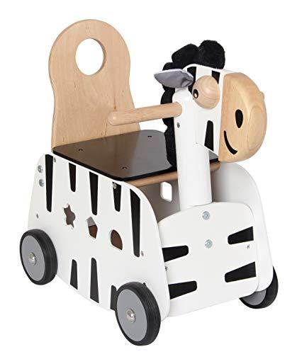 I'm Toy Schiebewagen Zebra