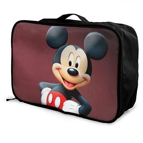 Mouse Travel Lage Duffel Bolsa ligera maleta portátil Bolsas para mujeres hombres niños impermeable grande Bapa Caity