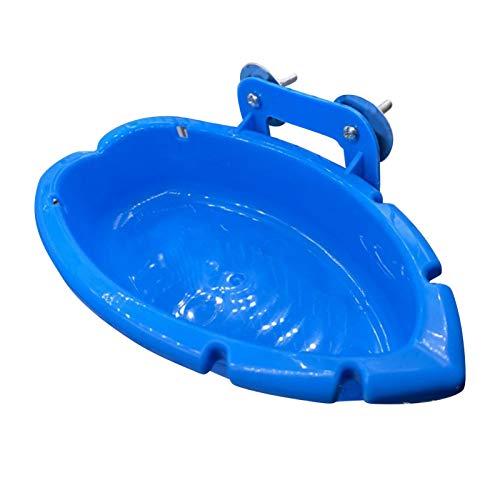 Yuxinkang Bañeras para Pájaros, Cuenco para Bañera, Jaula para Loros para Mascotas, Juguete para Baño De Pájaros, Comedero para Pájaros Colgante, Piscina para Mascotas, Dispensador De Agua para Ducha