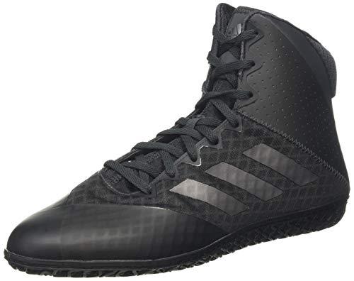 adidas Mat Wizard 4 Boots - Scarpa da Boxe da Uomo, Nero (Nero AC), 42 EU