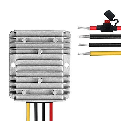 dkplnt 10A 120W 12v Golf Cart 48V 36V to 12V Converter Voltage Regulator Golf Cart Voltage Converter Reducer Transformer Waterproof