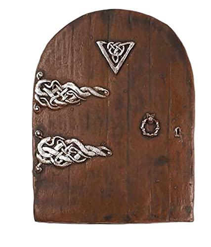 Puerta mágica de hadas (tamaño grande)–Puerta en miniatura para rodapiés, paredes y...