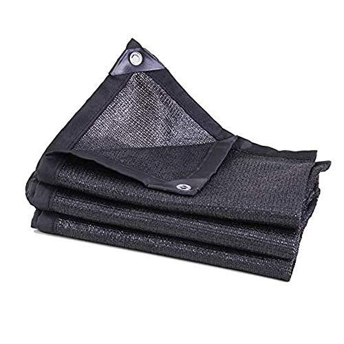 LJJOO Impermeable Cortina de Sun Sail, Huerto Cortavientos Neto, Pantallas de Sombra, Adecuado for el jardín, Patio, Piscina, Barbacoa, etc (Size : 5 * 8m)