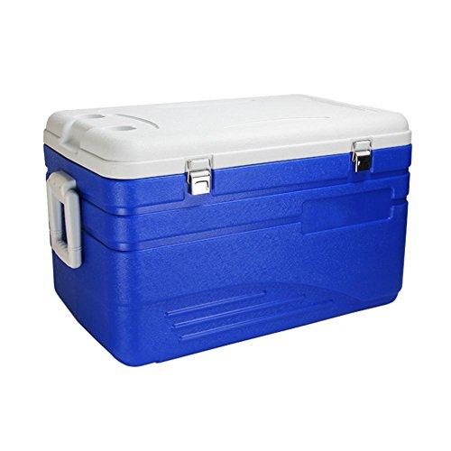 JXS Koelbox, hoogwaardige koelkast, camping, picknick, ingebouwde thermometer upgrade (105 liter)