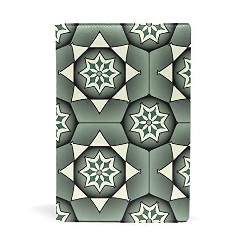 Malpela Geometrische künstlerische Blumenschulbucheinband, ideal für Schule und Geschenke