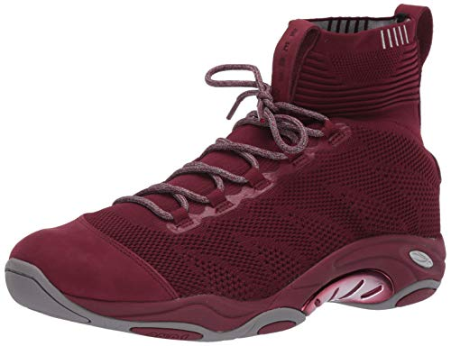 AND1 Herren Tai Chi Remix Basketballschuh, Rot (Cordovan/Silber Filigrane), 45 EU