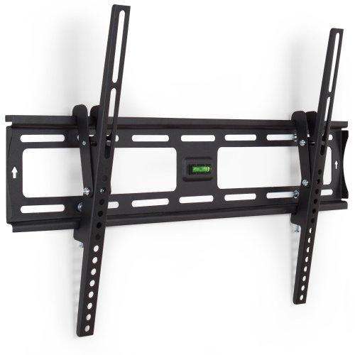 TecTake Support Mural inclinable TV LCD LED Plasma pour écran Plat de 81 cm à 160 cm (32 à 63\