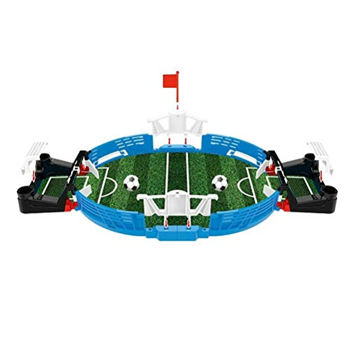 Read About YYBF Mini Football Tabletop Arcade Game - Miniature Desktop Soccer Novelty Game - Power S...