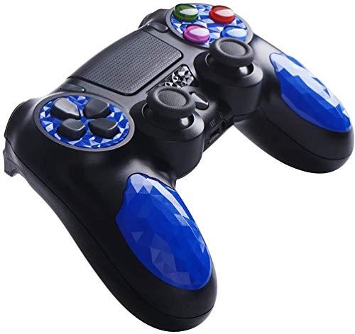 Game Controller für PS4, Double Shock Wireless Controller für Playstation 4 - OUBANG PS4-Fernbedienung mit Ladekabel, Bestes Joystick-Geschenk für PS4-Spiele zu Weihnachten, Brithday (Blau)