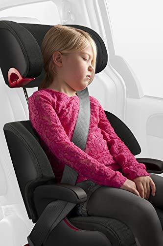 Clek Oobr High Back Booster Car Seat with Rigid Latch, Carbon (OB11U2-JBB)