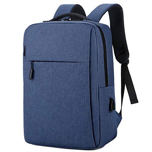 Computer Bag Shoulder Bag Business Casual Outdoor Backpack Schoolbag Laptop Bag,902 Blue,16-Inch