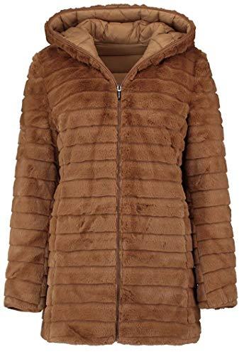 Hailys Larea Frauen Winterjacke braun L 100% Polyester Basics, Casual Wear, Streetwear