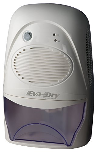 Eva-Dry Edv-2200 Powerful Electric Mid-Size Dehumidifier, Great for Areas Up To 2200 Cubic Feet