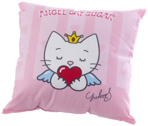 Herding 526630003 knuffelkussen Angel Cat Sugar / 40x40 cm