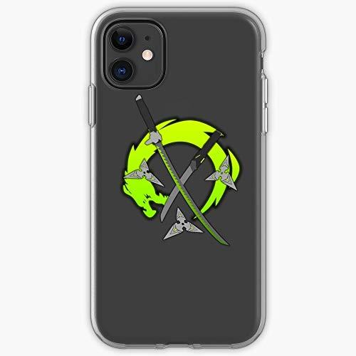 Dragon Blizzard Shuriken Fps Genji Swords Overwatch Ninja | Phone Case for iPhone 11, iPhone 11 Pro, iPhone XR, iPhone 7/8 / SE 2020