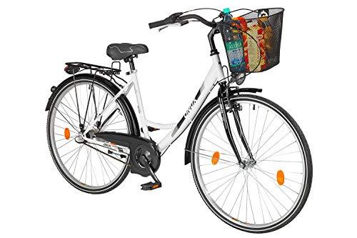 tretwerk DIREKT gute Räder Leader Mariah 28 Zoll 3-Gang Nabenschaltung mit Rücktritt Cityrad-Damen