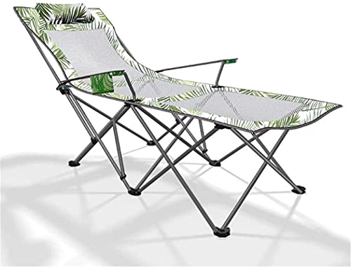 BANNAB Tumbona Tumbona Plegable Lunch Break Cama Individual 170 87 70cm, 100 Kg MAX.Camas Plegables al Aire Libre de la Oficina de Las sillas Plegables con Tela sintética Respirable